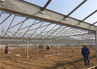 5kw Greenhouse Solar System Ground Mount 10-60° Tilt Angle Thickness 2.0mm/2.5mm