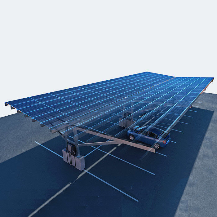 Large Carport Solar Systems High Intensity Prefabricated Vertical Horizental